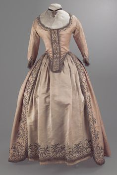 Robe a l'anglaise, probably 1780's