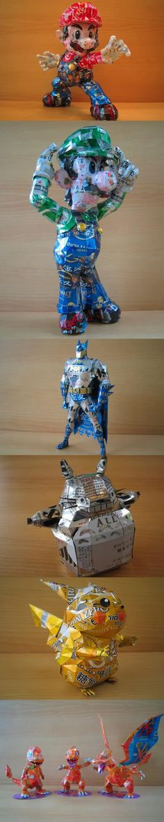 Recycling-Figuren | Recyceln Like a Boss - Win Bild
