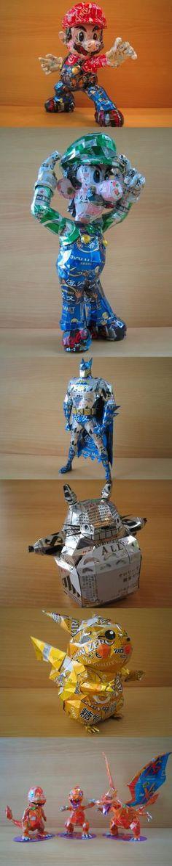 Recycling-Figuren | Recyceln Like a Boss - Win Bild