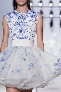 """runway-report: """" Details at Giambattista Valli Couture Fall 2013 """""""