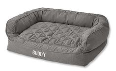 Lounger Deep Dish Dog Bed With Memory Foam ($298)