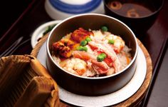 Japanese food : kamameshi / nara