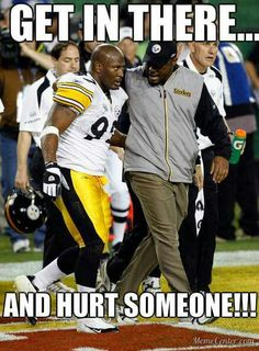 Reminds me of my playing days. Steelers Pics, Steelers Gear, Pittsburgh Steelers Football, Pittsburgh Sports, Best Football Team, Football Memes, Steelers Stuff, Steelers Super Bowls, Steeler Nation