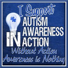 Autism Awareness in Action - because Awareness is NOTHING without Action. Join the Cafe for a huge Social Media Campaign and Event, with sponsors, prizes, and actionable goals to push Awareness into Action! http://kcafe.me/awarenessNaction