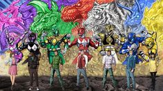 Mighty Morphin Power Rangers by Nicholas Nguyen
