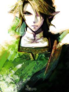 Link, the Legend of Zelda by 光と影
