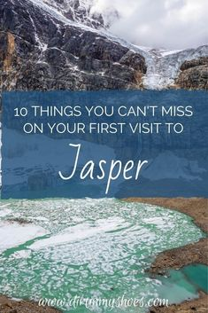 Jasper National Park is one of the most beautiful places in Canada, and should be on everyone's bucket lists! Planning an itinerary for your family vacation can be a challenge though, that's why I'm sharing this list of 10 things to do in Jasper. Whether you're hiking with kids, camping with families, or are on a solo photography adventure through Alberta, this travel guide will help you choose the best hikes, discover mountain lakes and glaciers, and have the best road trip! #2 is amazing! Canada National Parks, Jasper National Park, Banff National Park, Jasper Hikes, Canada Travel, Canada Trip, Hiking With Kids, Nature Activities, And So The Adventure Begins