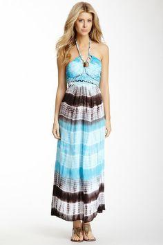 Tie-Dye Braided Maxi Dress on HauteLook