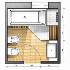 Progetto Bagno Con Doccia.68 Fantastiche Immagini Su Bagno Con Doccia Apartment Bathroom