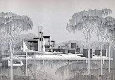 paul rudolph drawings - Google Search