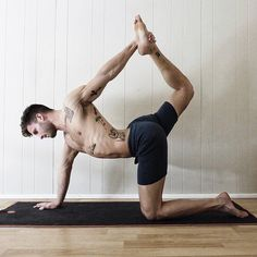 Pin for Later: These Hot Yogis Will Inspire You to Get on the Mat ASAP Tatted, Sexy, Strong