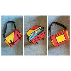 Messenger Look-a-Like Nappy/Mummy Bag - designed and made by Agapantha - 2014
