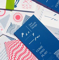 PLAYFUL - New Finnish Design by Kokoro & Moi , via Behance