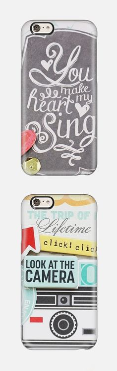 iPhone 6 case collection from Casetify. Such a cute gift idea!