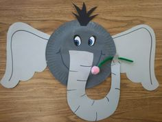 The cute Horton we made in class for Dr. Seuss day.