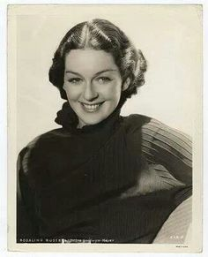 Rosalind Russell (June 1907 – November was an American actress. Golden Age Of Hollywood, Hollywood Glamour, Classic Hollywood, Old Hollywood, Hollywood Icons, Glamour Movie, Julie Walters, Rosalind Russell, Classic Movie Stars