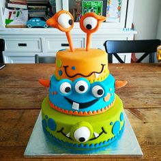 Monstertaart / Monster Cake