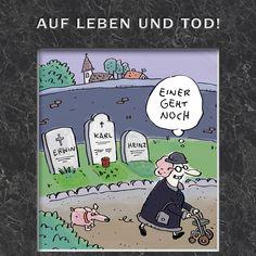 Neues Caricatura-Buch! ISBN 978-3830334538  #caricaturagalerie #lappan #leben #tod #cartoon #karikatur #komischekunst