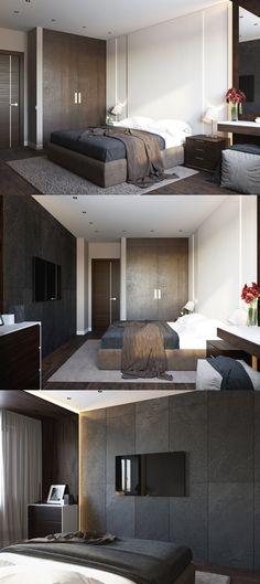 Modern interior bedroom - Галерея 3ddd.ru