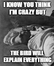 The bird... #MissPeregrine