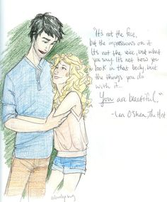 I realize this is Ian and Wanda but it looks like percy and annabeth to me