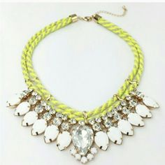 Crystal rope necklace New. Request separate listing for purchase Adia Kibur Jewelry Necklaces