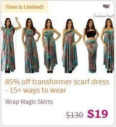 Magic Wrap Dresses Only $15! (reg $130!)