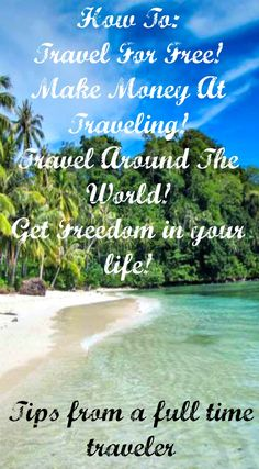How to travel for free! How to make money at traveling and who to travel the world and get freedom in your life! Tips from a full time traveler. Read the full travel blog post at http://www.divergenttravelers.com/freedom-business-quit-the-cubicle/