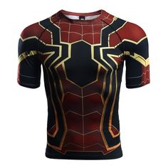 Marvelous Rashguard - t-shirt: Iron Spider-man Infinity War Avengers  – Search tags:  #2XL #3XL #compressionapparel #compressioncrossfit #compressiongear #compressionlongsleeves #compressionshirt #compressionshirts #compressionworkout #L #M #rashguard2018 #rashguardapparels #rashguardbuy #rashguardcanada