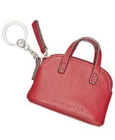 Tignanello Mini Satchel Key Fob Leather Accessories, Handbag Accessories, Diy Bags Patterns, Tignanello Handbags, Mini Mochila, Leather Keyring, Mini Handbags, Leather Projects, Small Leather Goods