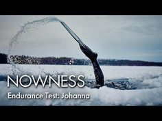 Johanna Under The Ice: Freediver Johanna Nordblad on the accident that led her to a world record - YouTube