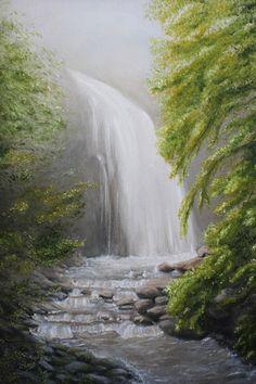 Volkova Elena Alekseevna - 'Waterfall in the Fog'