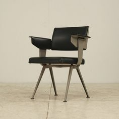 Industrial executive desk chair by Friso Kramer