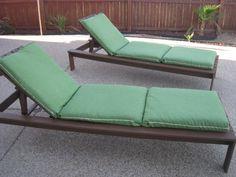 DIY Lounge Chair Cushions