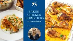 Baked Chicken Drumsticks - Baked Chicken Legs