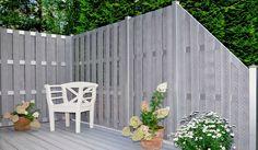 jumbo wpc zaun alu sand 179x179 cm zaun nachbarn pinterest sichtschutzelemente zaun. Black Bedroom Furniture Sets. Home Design Ideas