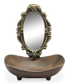 Look at this Vanity Mirror Soap Dish on #zulily today!