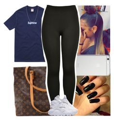 """""""Untitled #558"""" by msixo ❤ liked on Polyvore featuring Louis Vuitton, Supreme, Native Union and David Yurman"""