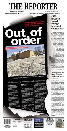 The Reporter, published in Fond du Lac, Wisconsin USA