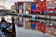 Sunset in Aveiro | Flickr - Photo Sharing! Centro de Portugal Region, Portugal
