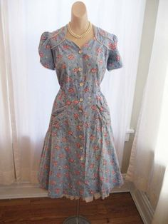 feed sack dress - Google Search                                                                                                                                                                                 More