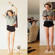 33 People Who are not Afraid to Share the Hidden Part of Fancy Social Media Life - bemethis Instagram Vs Real Life, Foto Instagram, Expectation Vs Reality, Expensive Clothes, What Really Happened, Body Love, The Way You Are, Girls Show, Funny Stuff