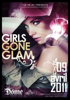 Girl gone glam by the REZO
