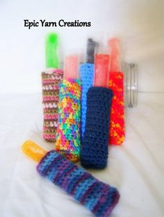 Crochet Popsicle holder