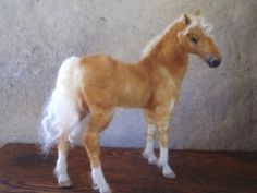 Custom horse portrait needle felted  pet memorial by Ainigmati, $195.00