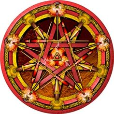 Fire Elemental Pentacle