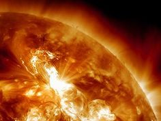 Today's solar flare