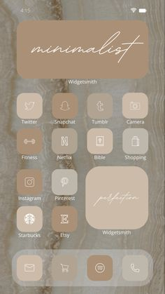 Icones Do Iphone, Iphone Wallpaper App, Iphone App, Iphone Home Screen Layout, New Ios, Ios Icon, Beige Aesthetic, 2 Instagram, Icon Pack