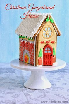 Christmas Gingerbread House - by Haniela's