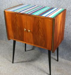 1950's Vinyl Record Cabinet